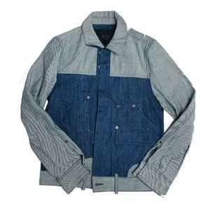 Croquis Trucker Jacket Womens Size Extra Small XS